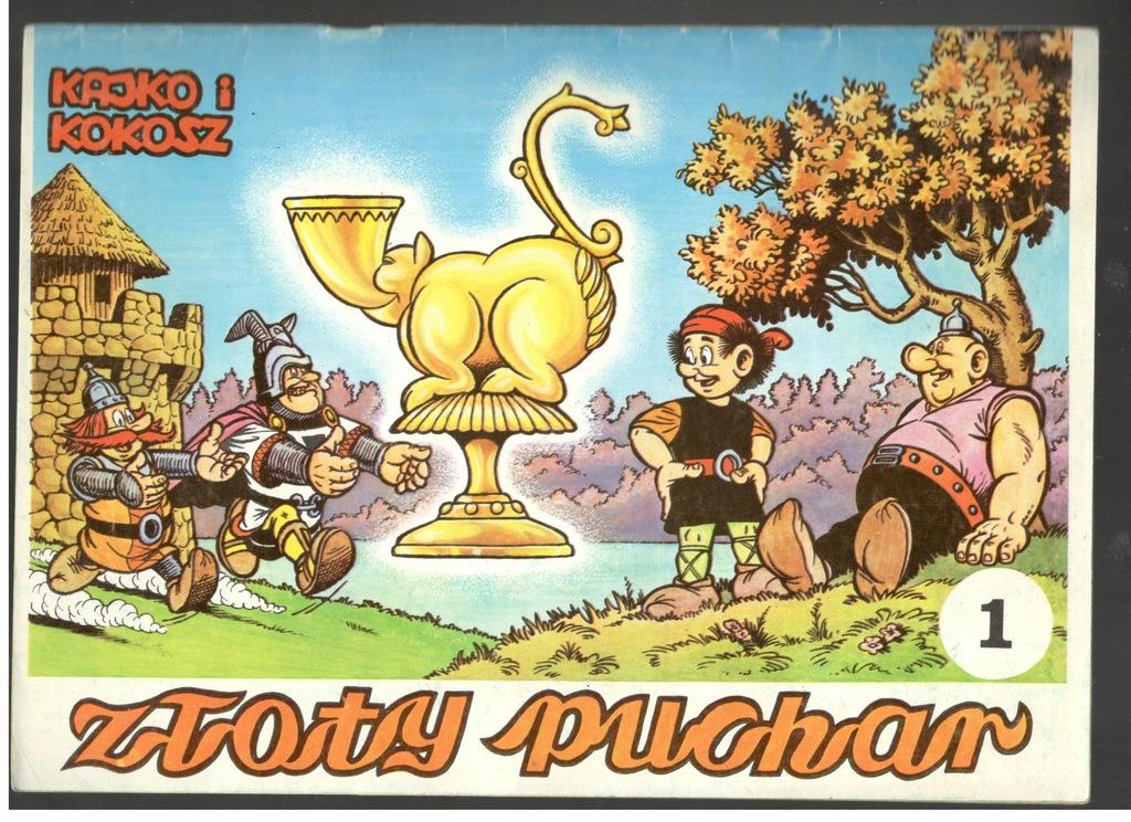 Kajko I Kokosz Zloty Puchar Cz 1 1985 Wydanie I 7705635080 Oficjalne Archiwum Allegro