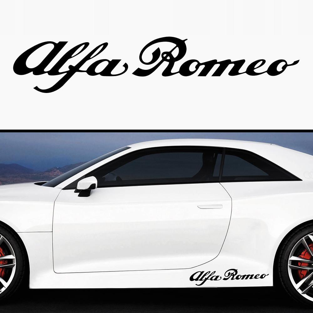 Alfa Romeo Naklejka Na Prog Karoserie 7703632730 Oficjalne Archiwum Allegro