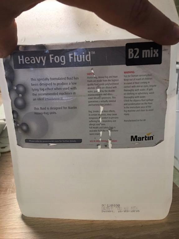 Płyn do ciężkiego dymu Martin B2