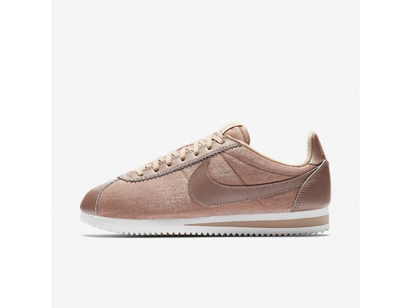 Nike Sportswear Buty Wmns Classic Cortez Leather Buty sportowe damskie beżowe w
