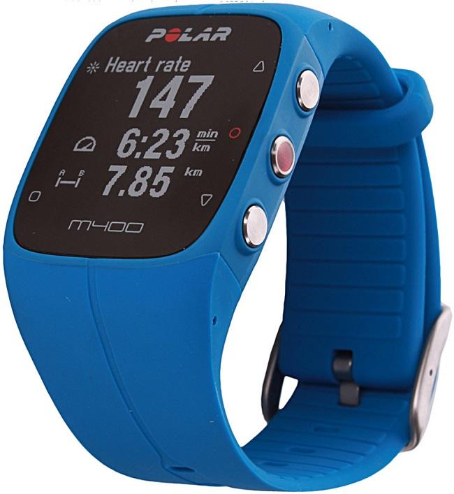 polar zegarek niebieski