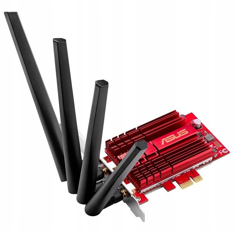 ASUS PCE-AC88, Wireless LAN Adapter PCIe 802.11 ac