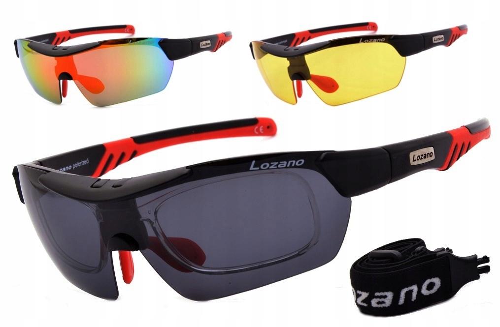 Okulary sportowe lozano 124 a polaryzacja korekcja Galeria