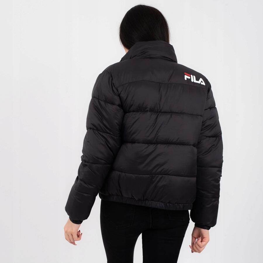 Kurtka Fila Raya Puff Jacket Black