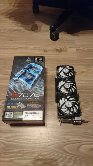 Xfx Ati Radeon Hd 7870 Xt 2gb Accelero Xtreme 7735255168 Oficjalne Archiwum Allegro