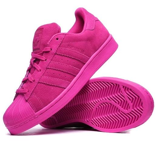 Buty adidas superstar różowe