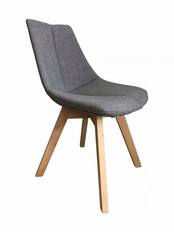 krzesła tapicerowane szre