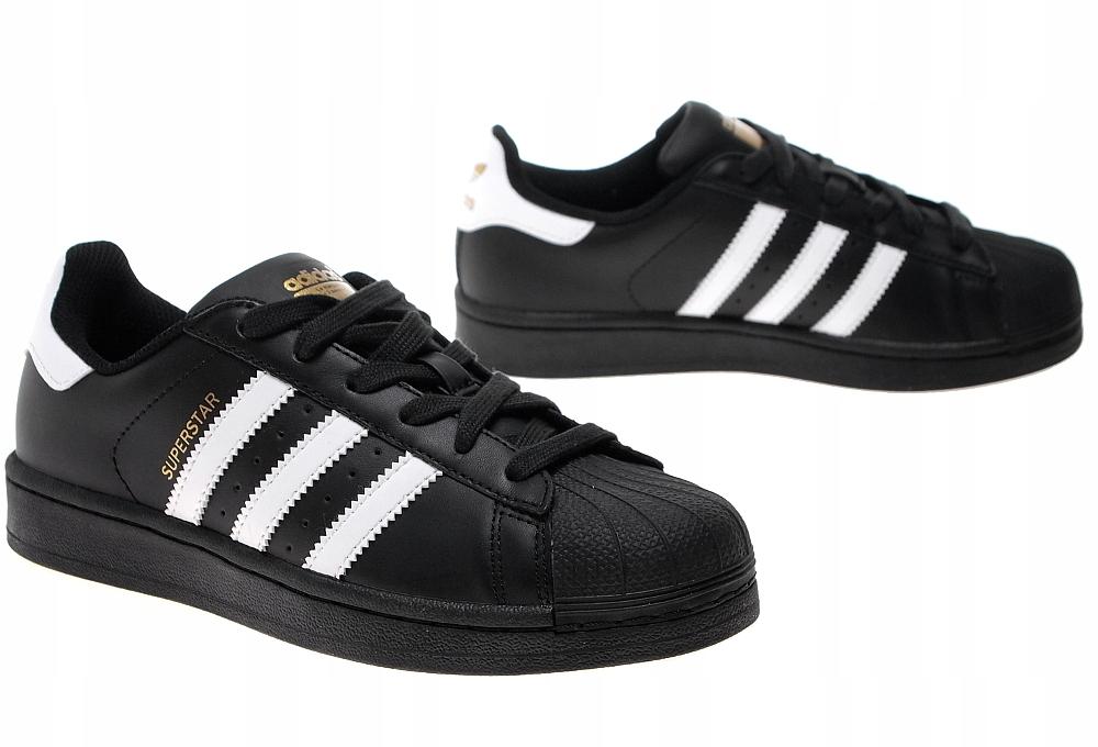 MĘSKIE BUTY Adidas Superstar B27140 CZARNE