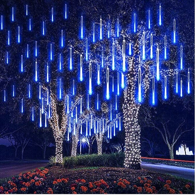 lampy świąteczne zewnętrzne