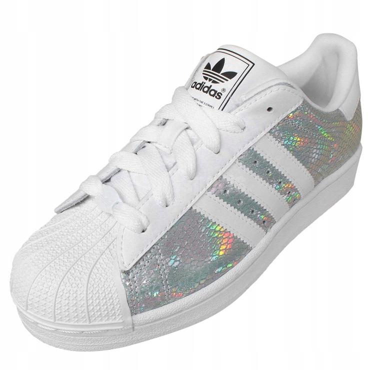 Buty adidas superstar hologram roz 39 wysylka 48h Zdjęcie