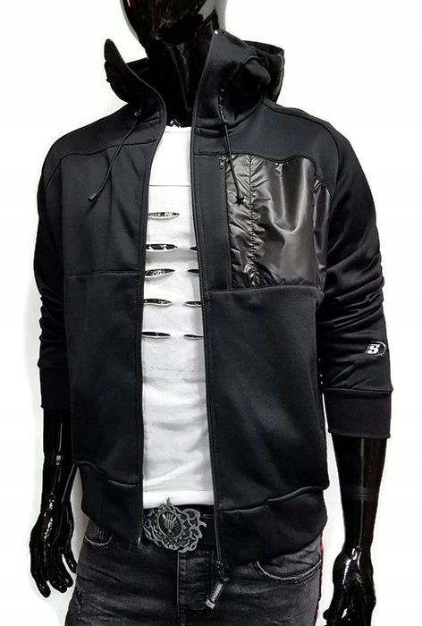 Adidas bluza z kapturem meska czarna bawełniana Core 18 CE9068