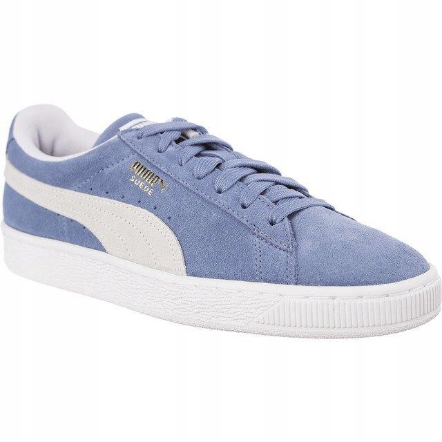 Niebieskie Zamszowe Buty Trampki Puma r.40