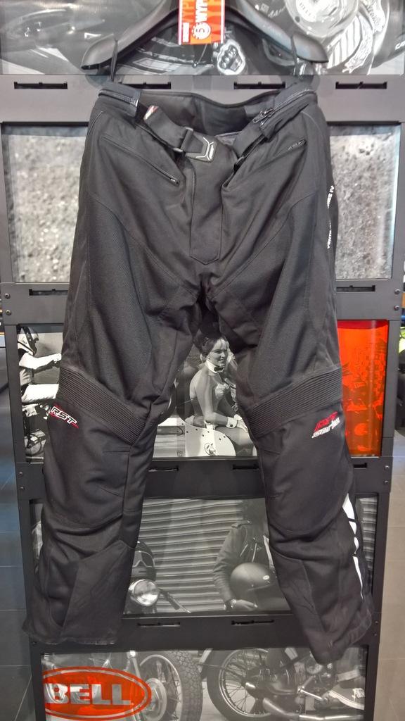 Spodnie tekstylne RST Ventilator IV Black roz. XXL