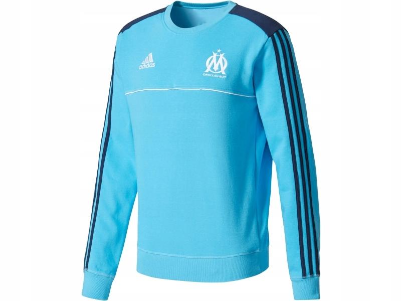 bluza z kapturem Olympique Marsylia Adidas (17 18) > bluzy
