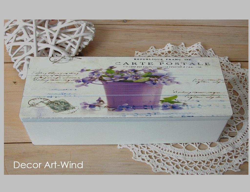 Pudełko na drobiazgi/ herbatę, Decor Art