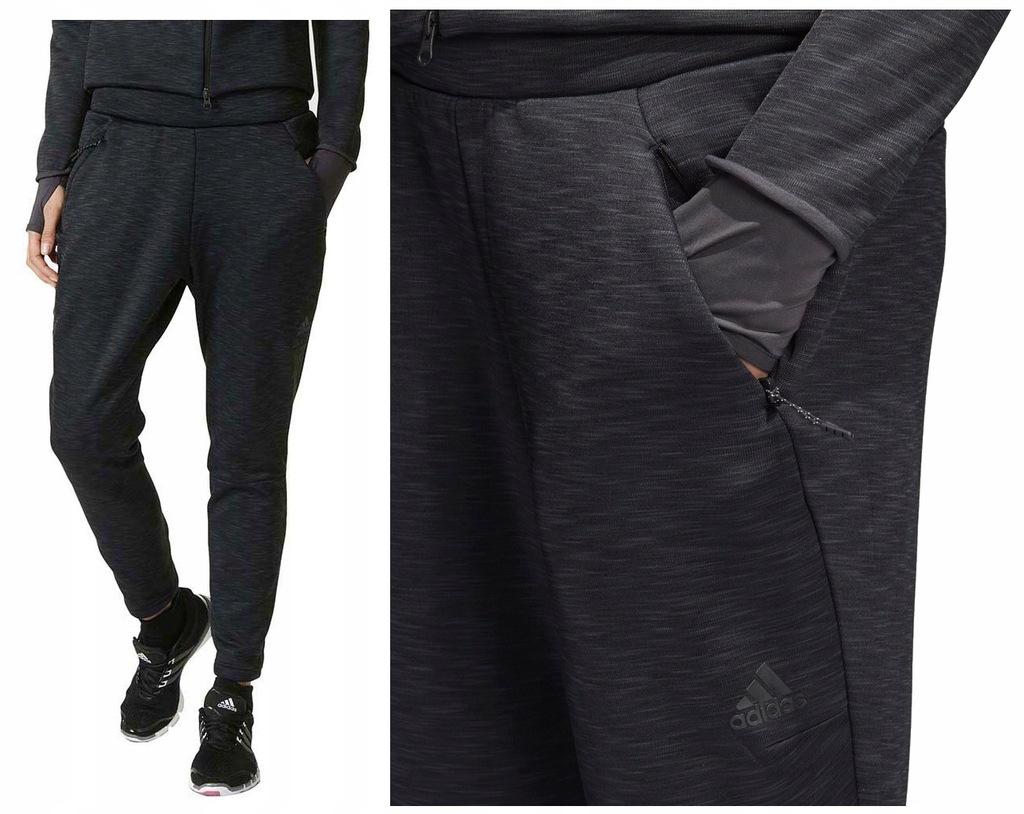 adidas Kobiety Spodnie adidas Z.N.E. Striker Black Damskie
