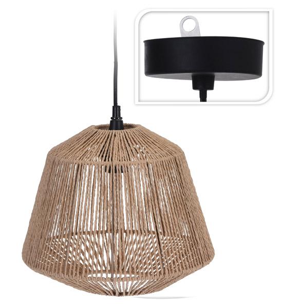 lampy sufitowe sznurkowe