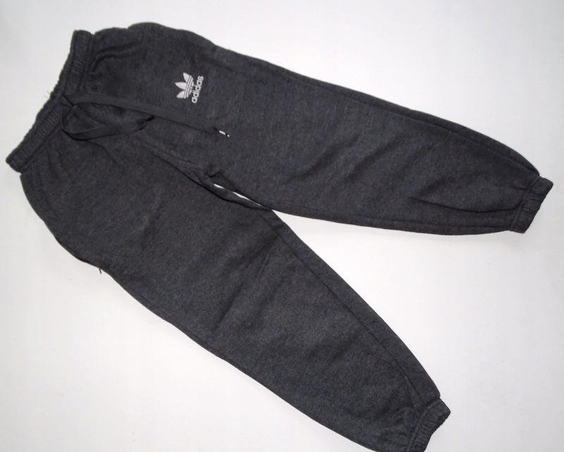 ADIDAS Spodnie dresowe ciepłe 152 160 SM