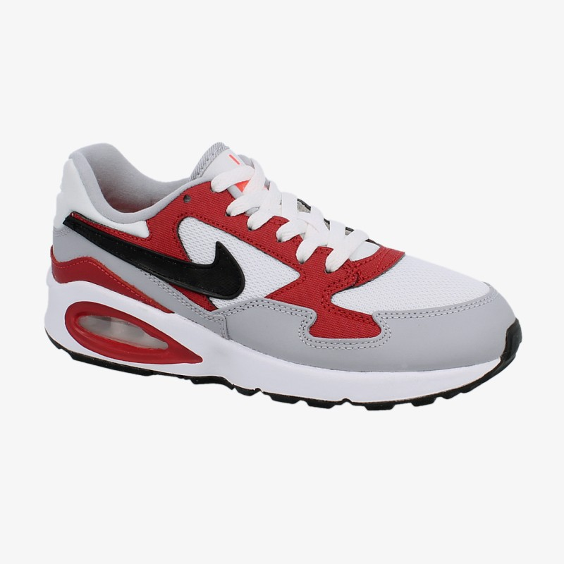 2017 Moda Buty damskie Nike Nike Air Max 1 GS White Red