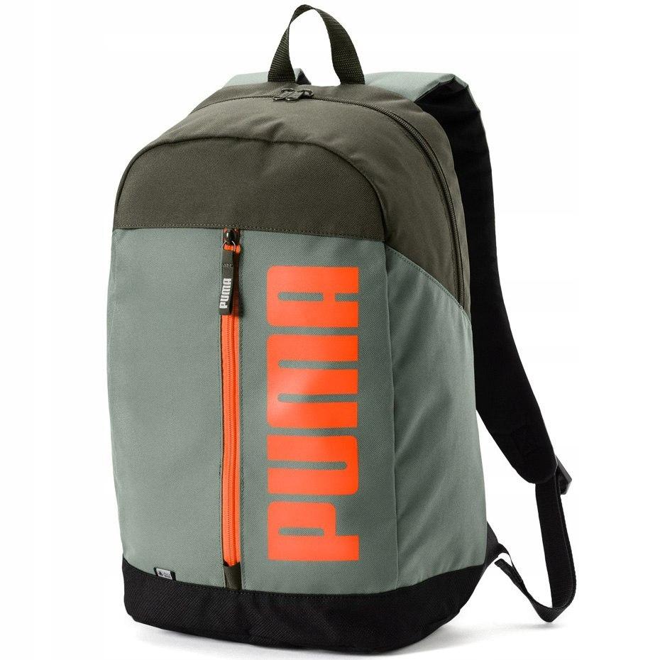 Plecak Puma Pioneer II oliwkowy 075103 08