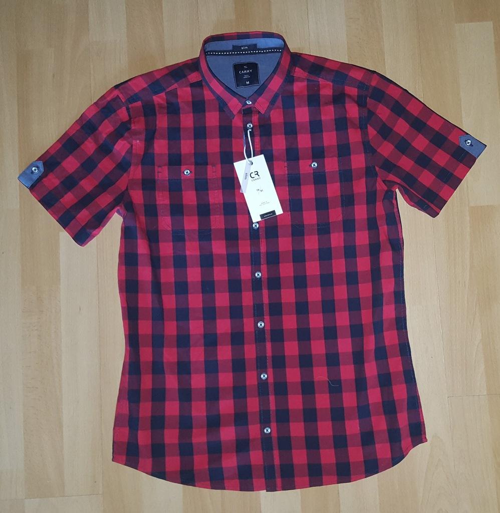 Koszula z krótkim rękawem Carry