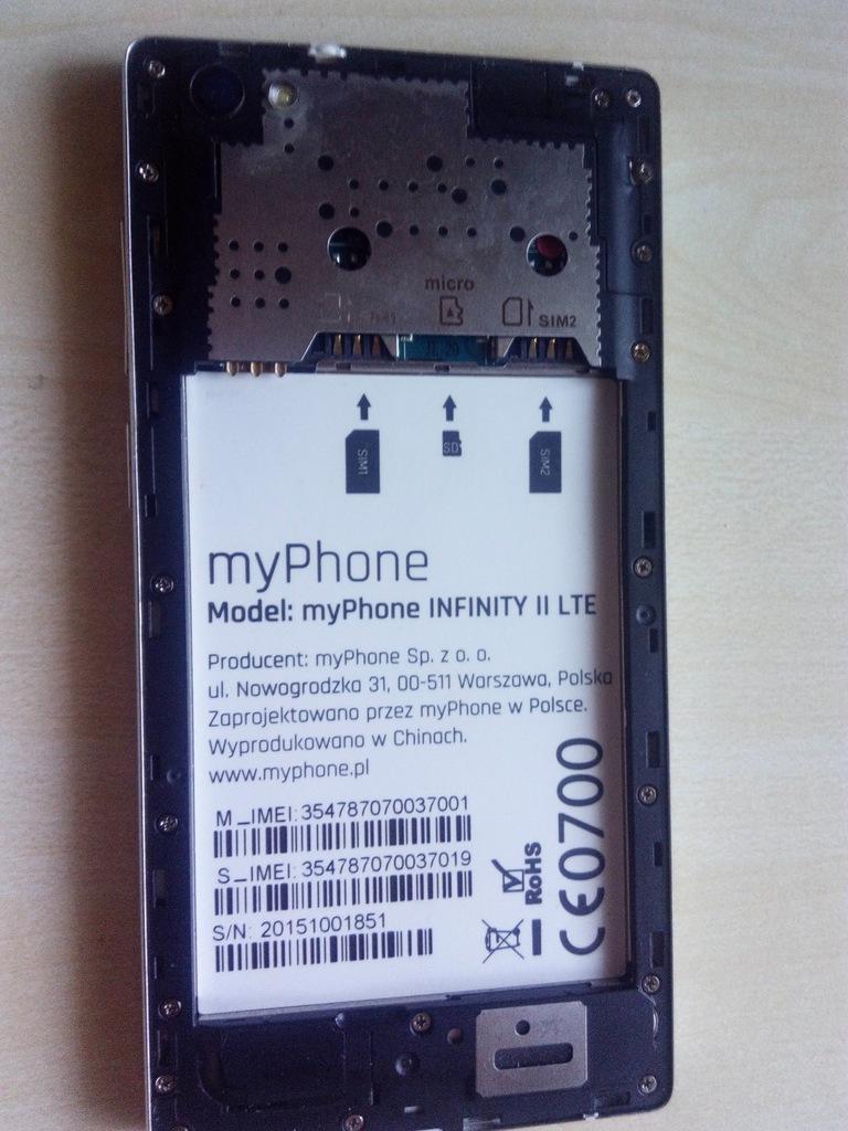 Etui Do Myphone Infinity Ii 2 Lte Pokrowiec Unique 7724284379 Oficjalne Archiwum Allegro
