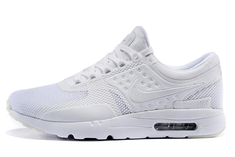 """Nike Air Max Zero """"All White"""""""