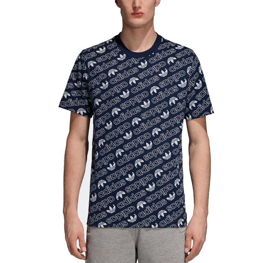 Koszulka adidas Originals Monogram DH2749 M czarny