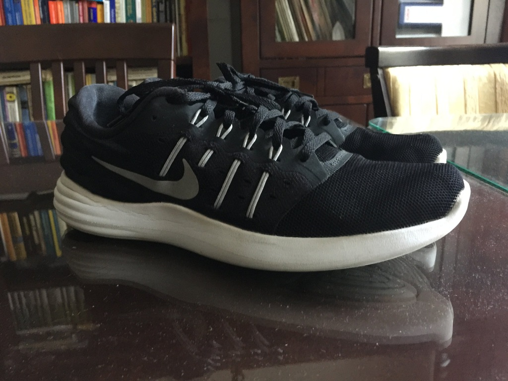 Nike Buty Lunarstelos męskie, czarne, rozm. 42