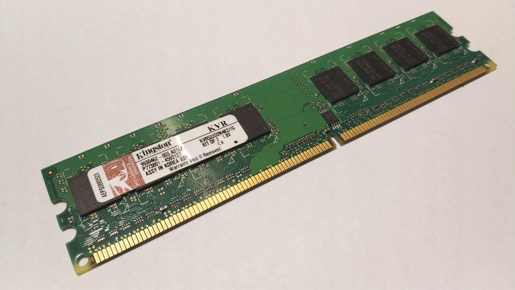 1GB TWO Samsung 512 Mb  PC2-5300U Desktop Memory RAM