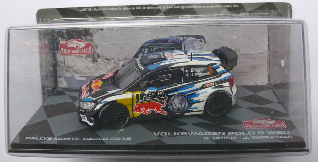Vw Polo R Wrc Rally Collection 1 43 7692574310 Oficjalne Archiwum Allegro