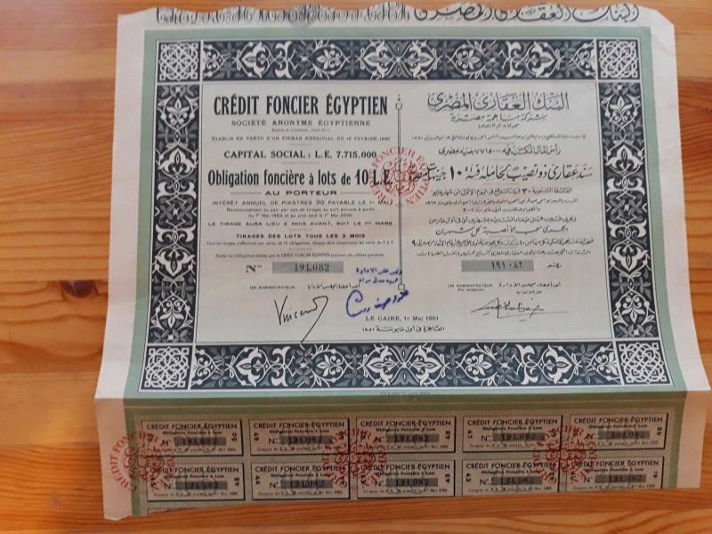 CREDIT FONCIER EGYPTIEN