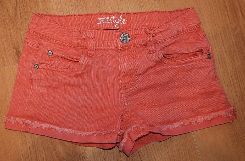 Krótkie spodenki jeansowe CappAhl 146 cm