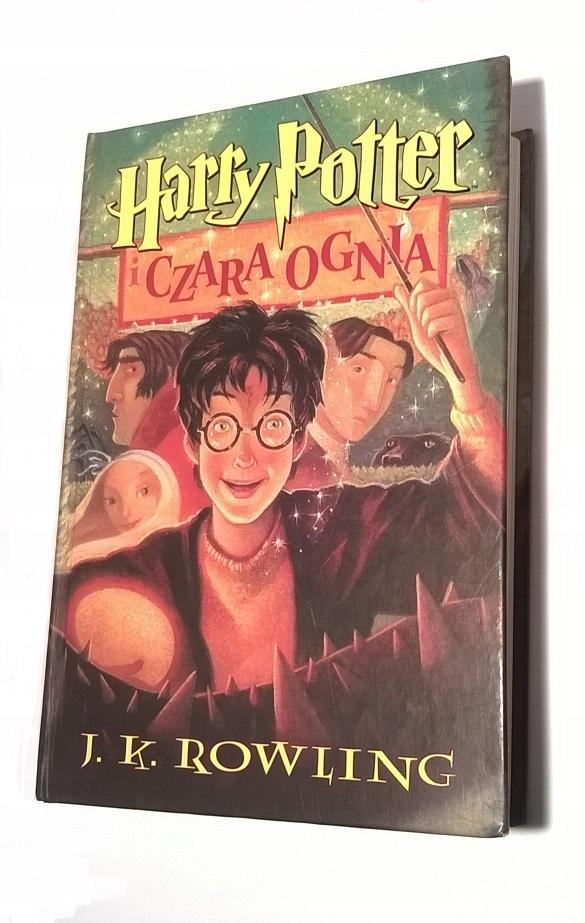 Harry Potter I Czara Ognia J K Rowling 7455637550 Oficjalne Archiwum Allegro