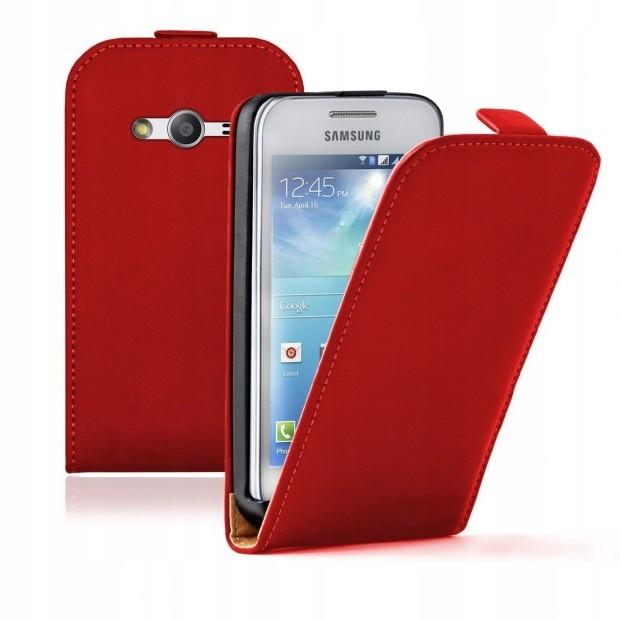 Samsung Galaxy Ace 4 G357 Etui Case Kabura Skora 7429960333 Oficjalne Archiwum Allegro
