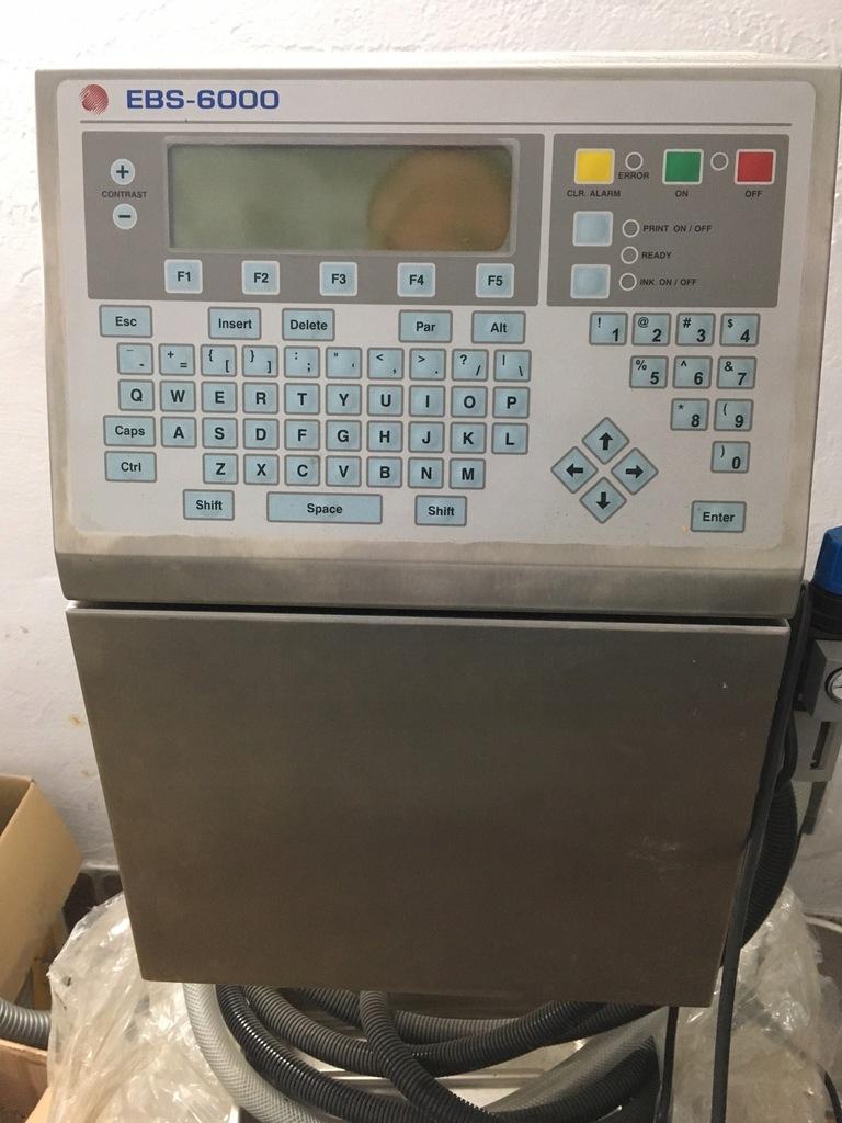 Drukarka przemysłowa INK-JET EBS 6000