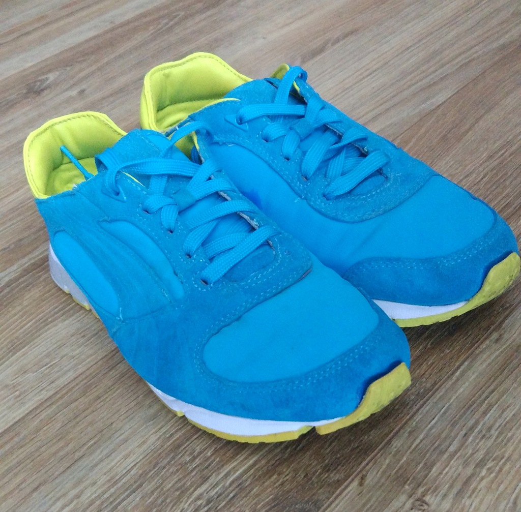 Buty Puma niebieskie 39 Adidasy