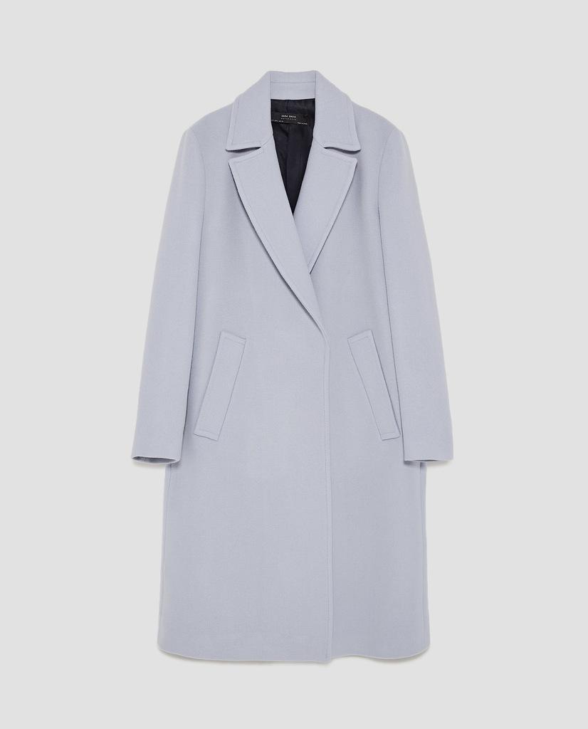 wełniany płaszcz ZARA M 38 Nowy z metką