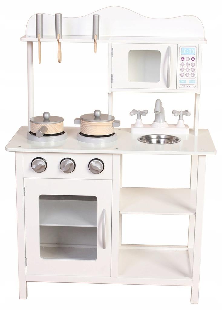 Kuchnia Drewniana Dla Dzieci Kuchenka Akcesoria 7566726243 Oficjalne Archiwum Allegro