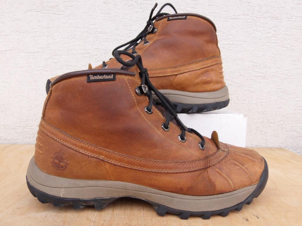 TIMBERLAND skórzane buty trekkingowe 8M 41,5