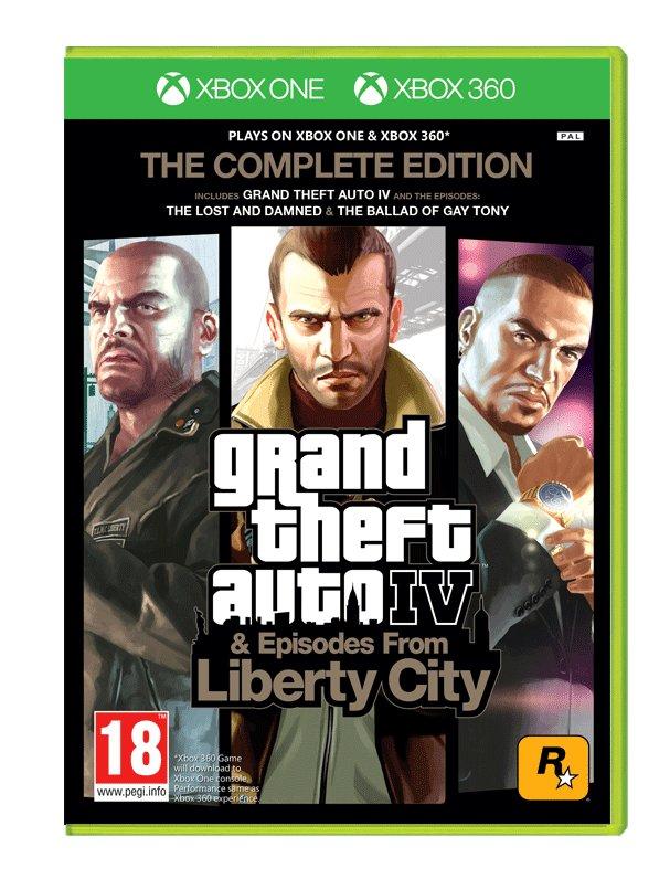 Gta Iv Grand Thef Auto 4 Complete Xbox One 360 6874227254 Oficjalne Archiwum Allegro