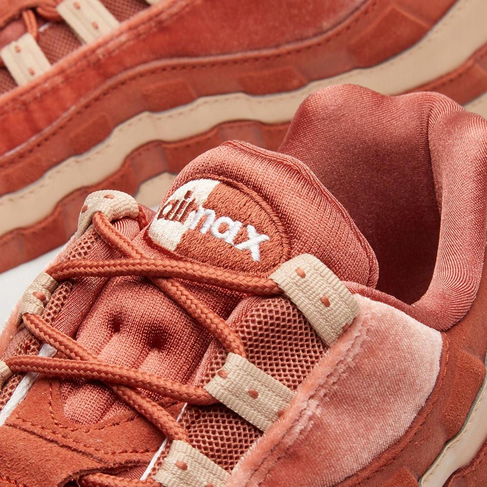Buty Nike AIR MAX 95 LX beigepeach pomarańczowe