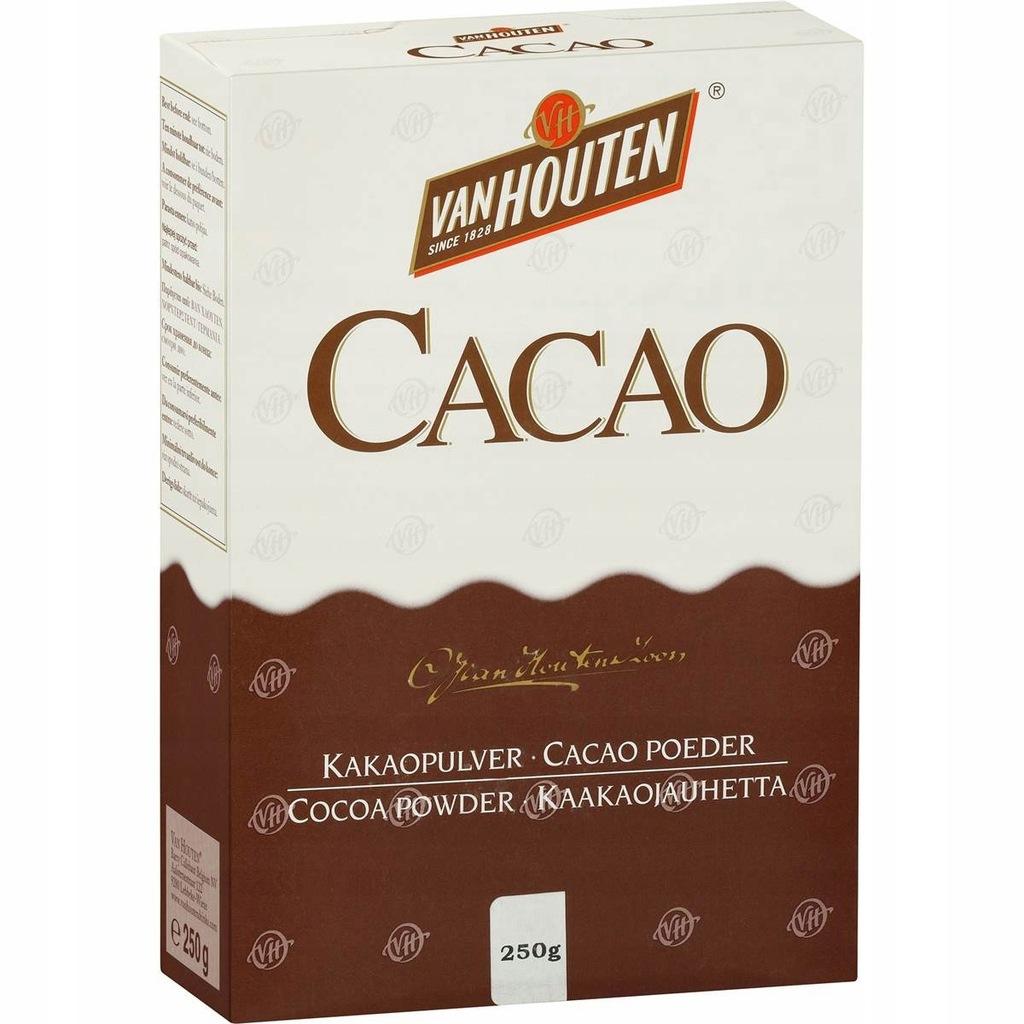 Oryginalne Kakao Van Houten 100 Extra Pyszne 250g 7507429595 Oficjalne Archiwum Allegro