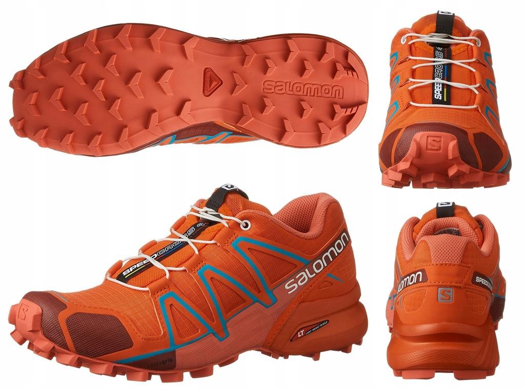 Buty SALOMON Speedcross 4 W 391834 Tomato RedCoral Punch