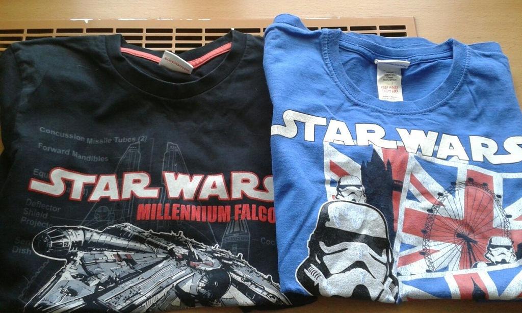 Zestaw dwóch t shirtów dla chłopca Star Wars