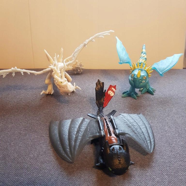 zabawki jeźdźcy smoków allegro