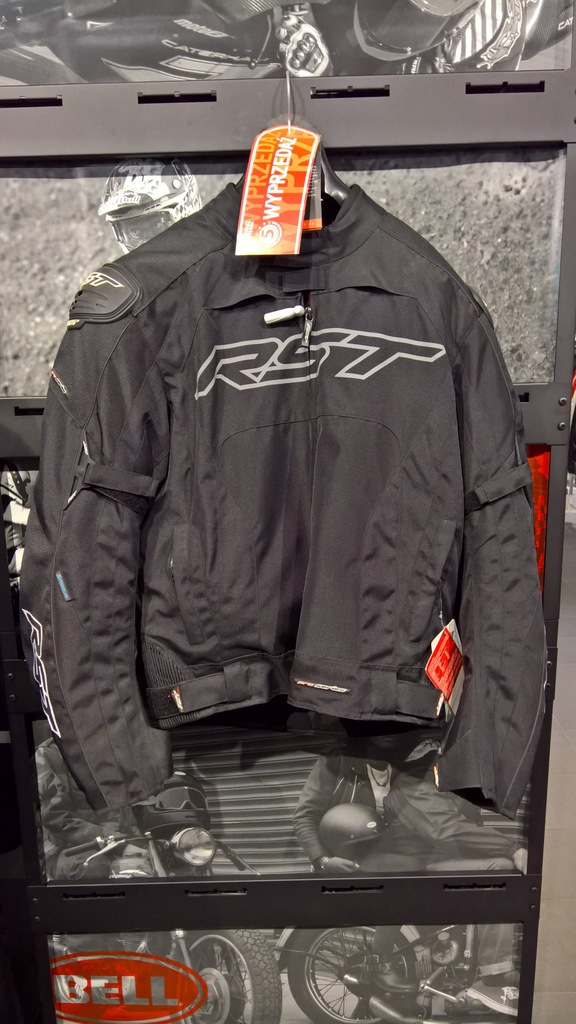 Kurtka tekstylna RST Pro Series Black roz. XL