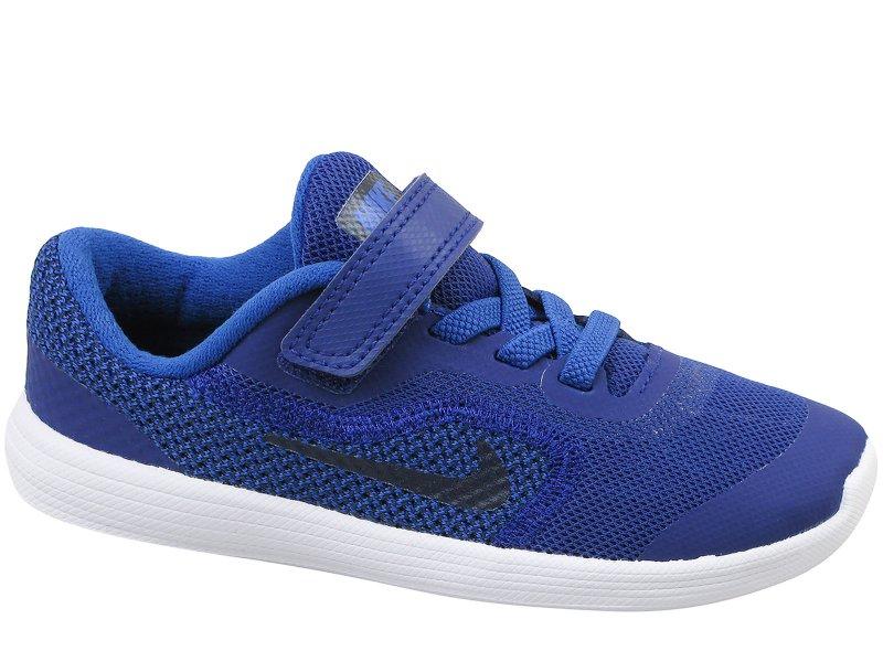 Dziecięce Nike Revolution 3 TDV Czarny Niebieski