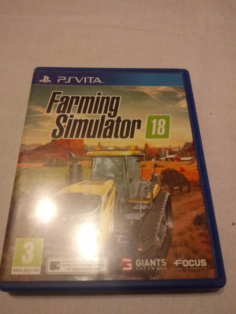Farming Simulator 18 PL PS VITA Najtaniej zobacz
