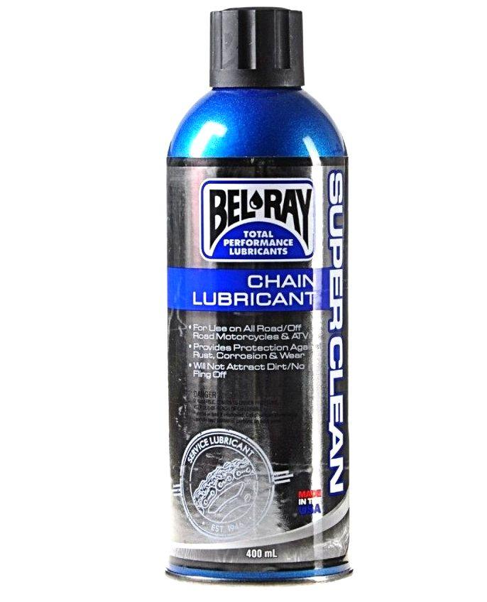 SMAR DO ŁAŃCUCHA BEL RAY SUPER CLEAN 400ml USA